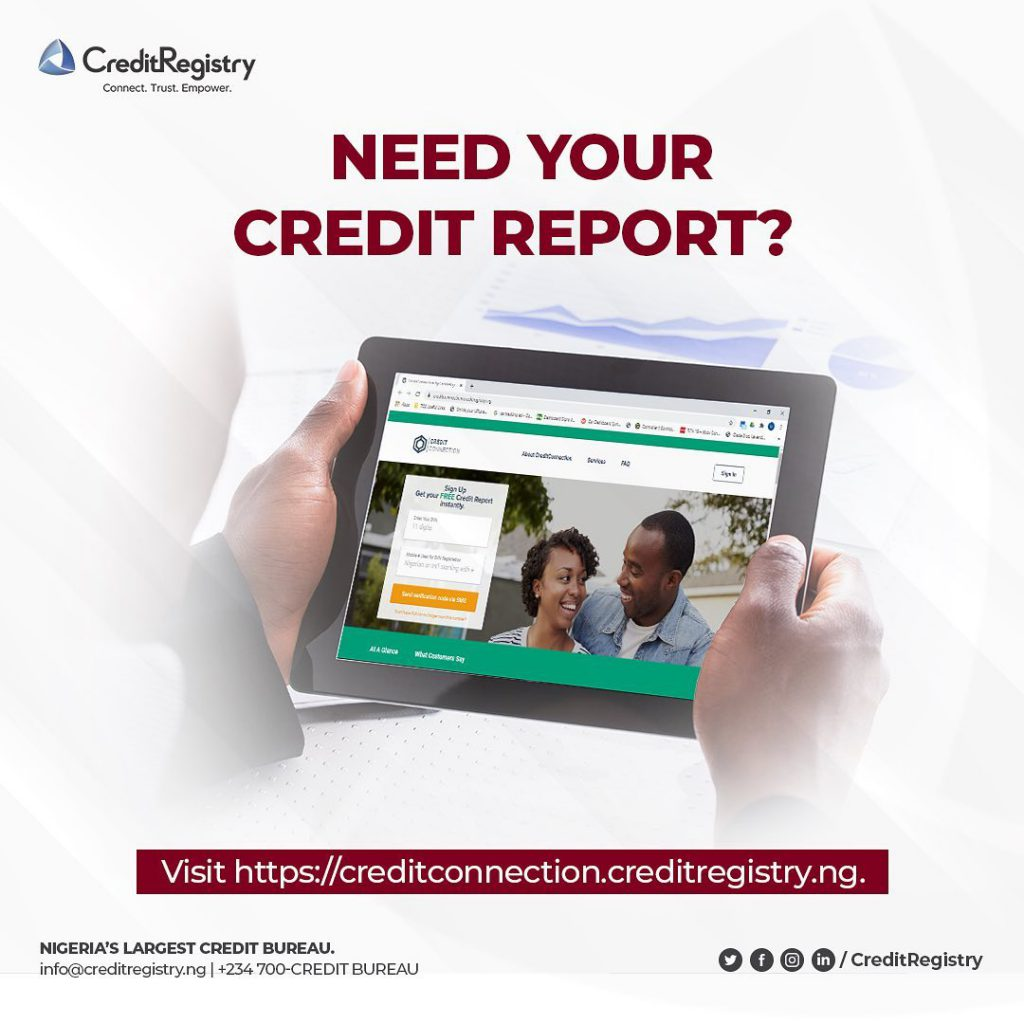 How to order credit reports in Nigeria